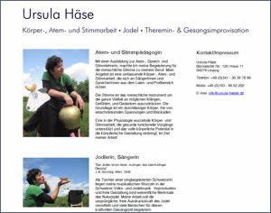 Website: www.ursula-haese.de